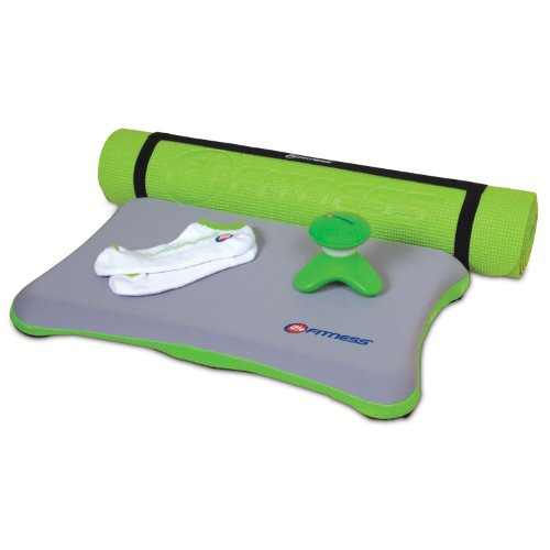 dreamGEAR Nintendo Wii 5-in-1 24 Hour Fitness Bundle (green)