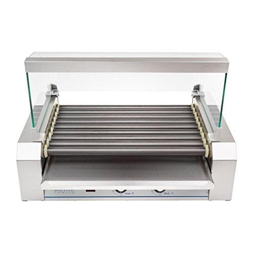 Helloshop26 Appareil Machine à Hot Dog Professionnelle Téflon 16 Saucisses 1 800 Watts, 1800 W