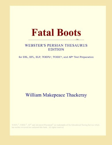 Fatal Boots (Webster's Persian Thesaurus Edition)