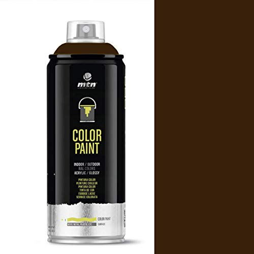MTN PRO Color Paint – RAL-8014 Sepia Brown Spray Paint – 400 ml