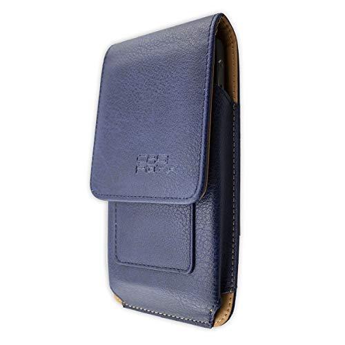 caseroxx Handy Tasche Outdoor Tasche für Archos 55 Cobalt Plus, mit drehbarem Gürtelclip in blau
