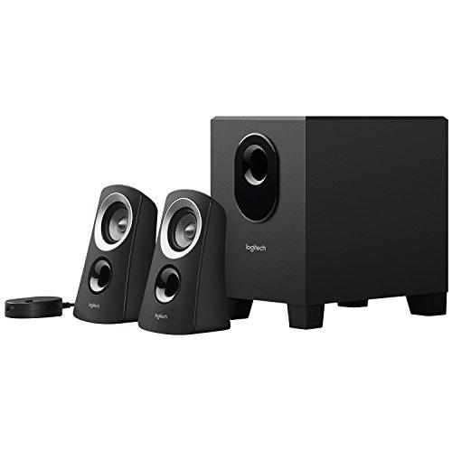 Logitech Z313 2.1 Speaker System - 25 W RMS - Black - 48 Hz - 20 kHz - RoHS, WEEE, TAA Compliance