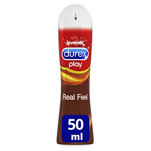 Durex Play Lubricante Real Feel de base silicona larga duración - 50 ml