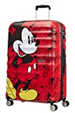 American Tourister Disney Wavebreaker - Maleta Infantil, Spinner L (77 cm - 96 L), Multicolor (Mickey Comics Red)