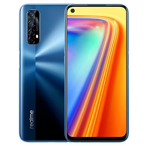 realme 7 - Smartphone de 6.5', 8GB RAM + 128GB ROM, Pantalla LCD FHD+, procesador Octa-Core Helio G95 Gaming, cuádruple...