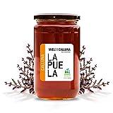 LAPUELA Miel de Calluna. Miel tradicional de origen natural desde Asturias - Aroma floral, intenso y...