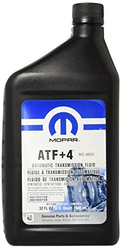 ATF-4 automatic transmission fluid by Mopar