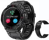 Military Smart Watch for Men Outdoor Waterproof Tactical Smartwatch...