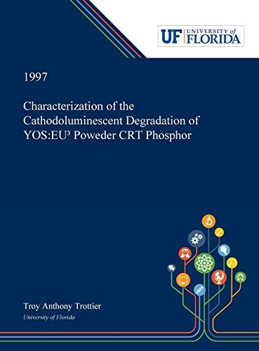 Characterization of the Cathodoluminescent Degradation of Y2O2S: EU³¿ Powder CRT Phosphor