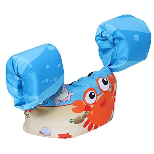 eecoo Original Pool Float für Kinder - Kinder Schwimmweste Bademode Weste - Schwimmweste mit Arm Schwimmflügel für Kinder Jungen und Mädchen
