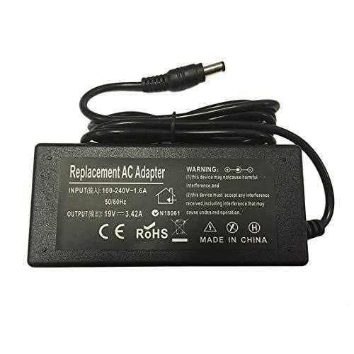 BiaBai Cargador adaptador de corriente para ordenador portátil para TOSHIBA Satellite L500 L650 L670 L750D L850
