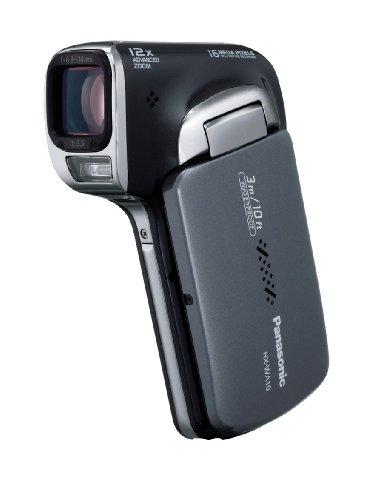 パナソニック 防水デジタルムービーカメラHX-WA10 サンターンブラック HX-WA10-K