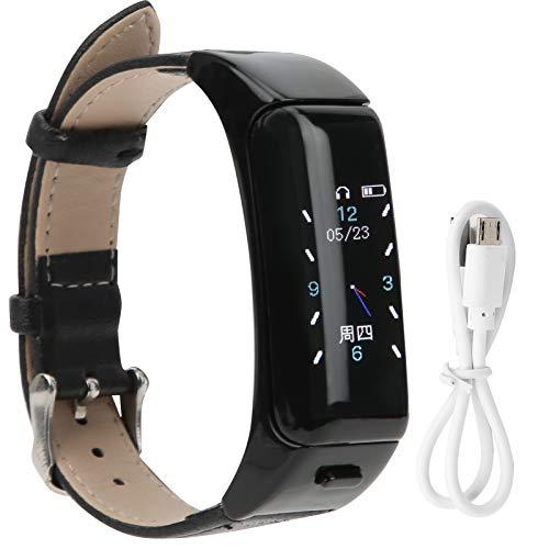 Omabeta Pulsera deportiva inteligente Bluetooth llamada pulsera efectivamente registro de datos de salud inteligente Bluetooth pulsera deportiva buen regalo diseño ergonómico para el canal auditivo