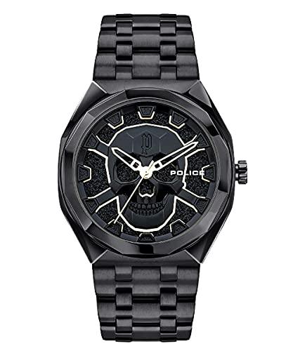 Police Herren-Armbanduhr Kediri Schwarz PEWJG2110701