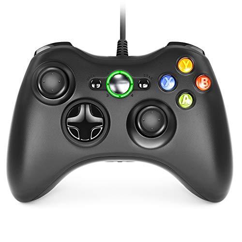 Dhaose Xbox 360 Game Controller, Wired Game Controller Gamepad Controller Cablato USB, Joystick, Joypad Compatibile per Microsoft Xbox 360 Slim PC Windows /7/8/8.1/10