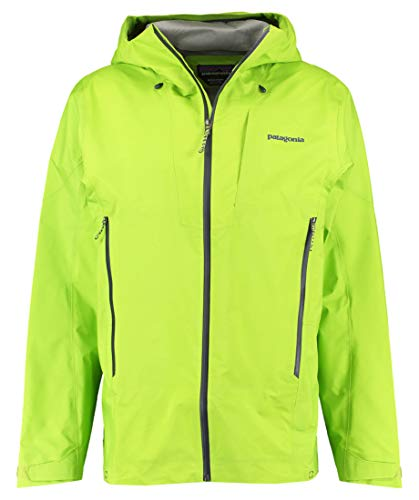 PATAGONIA M's Ascensionist Jkt Giacca da uomo, Uomo, giacca, 85230, Verde (Peppergrass Green), S