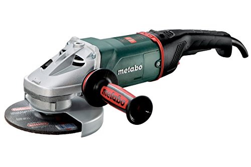 "Metabo- 7"" Angle Grinder - 8, 500 Rpm - 15.0 Amp W/Lock-On Trigger (606466420 24-180 MVT), Professional Angle Grinders"
