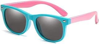 NIUASH - Gafas de Sol polarizadas Niños Gafas de Sol polarizadas Niños Niños Niñas Gafas Seguridad Infantil Gafas de Sol UV400 A