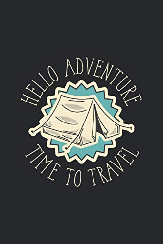 Abenteuer Camping zelt Wild Feuer Lager: Abenteuer Notizbuch