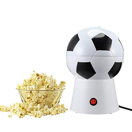 Purchase XYQC Electric Popcorn Machine, Soccer Ball Hot Air Popcorn Maker, Hot Air Fast Popping, Sui...
