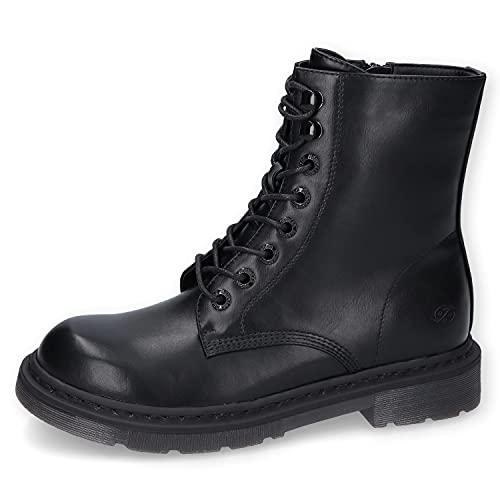 DOCKERS BY GERLI Damen 45TS201-610123 Ankle Boot, schwarz/asphal, 39 EU