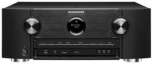Marantz Deutschland - Receptor AV Marantz Sr6014 9.2 Negro con Bluetooth, WLAN Y Heos