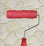 Greek Art 7' DIY Patterned Paint Roller Decorative Rubber Roller...