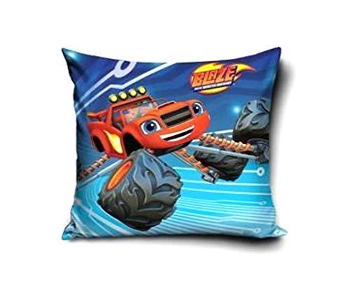 Theonoi kussensloop kussensloop Pillowcase aan beide zijden bedrukt zonder vulling zonder kussen blaze Monster Machines