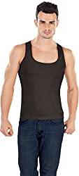 Dermawear Mens Shapewear Vest Black