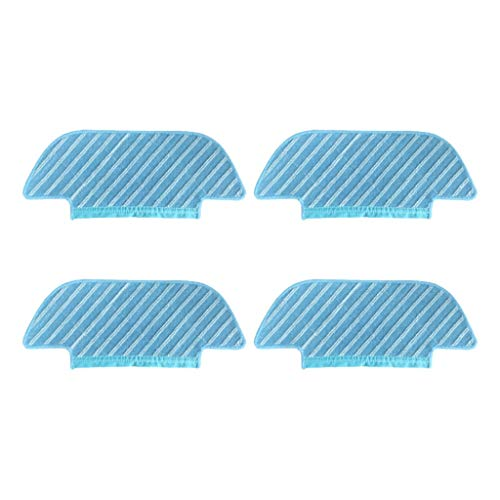 CAOQAO Balayeuse ECOVACS DEEBOT OZMO Slim 10 Aspirateur, Mopping Chiffon 4 Pcs,Nouveau Kit D'Accessoires De Remplacement pour Balayeuse ECOVACS DEEBOT OZMO Slim 10
