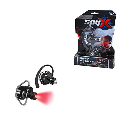 SpyX Micro Eyes & Ears - Includes Spy Light Super Ear Spy Toy. Be able to See in The Dark and Hear Things from far Away - The Perfect Addition for Your spy Gear Collection!