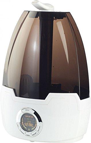 Preisvergleich Produktbild newgen medicals Verdampfer: Ultraschall-Luftbefeuchter LBF-325 mit Ionisator (Luftraumbefeuchter)
