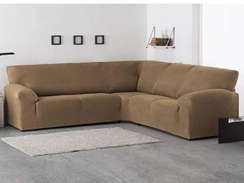 Belmarti - Funda sofá Rinconera Milan - Bielástica - Color Marfil C01