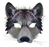 VENTURA TRADING AM15 Máscara de lobo mascarilla de lobo Máscara de perro Mascara veneciana Mascarada Fiesta Máscara de animal