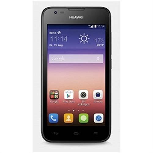 Huawei Ascend Y550 4GB Nero-Smartphone 4 G, SIM Singola, Android, MicroSIM, EDGE, GPRS/GSM/UMTS, LTE