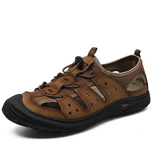 Ballyzess Sandalias Deportivas Sandalias De Verano para Hombres Transpirables Zapatos De Playa Al Aire Libre-40