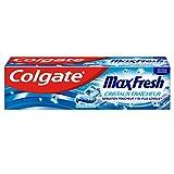 Pasta de dientes COLGATE Max Fresh con cristales refrescantes, una nueva dimensión de frescor 75 ml