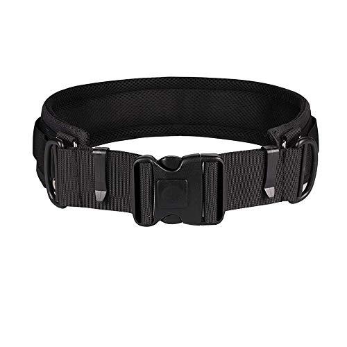 SOOJET Cinturón de Fotografía Multifuncional, Cámara Cinturón Holster, Correa de Cámara Ajustable Hebilla para Canon Nikon Sony DSLR