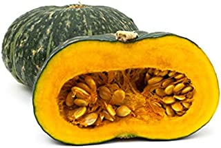 Puerto Rican Pumpkin/Calabaza Seeds - Organic, Open pollinated, Heirloom (1 Packet 10 Seeds) by AchmadAnam