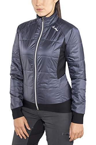 LÖFFLER Primaloft Mix Jacket Femmes Bleu/Noir Taille 40 2018 Veste de Pluie Mens