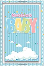 (No.101) Notebook to write plan: Baby Shower has a blue striped cover and cloud images. Paperback |size 6x9| |200 pages|