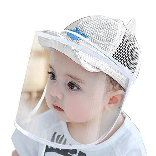 FUFU Gorros de aviador Los niños de algodón lindo de malla ajustable sombreros de béisbol for niños Sol viseras de protección solar a prueba de polvo Sombreros Niños Niñas Caps pescador Sombreros de 0