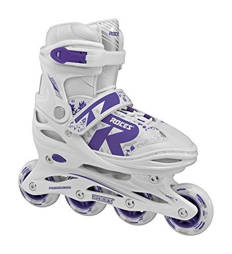 Roces Mädchen Jokey 2.0 Girl Inline Skates, White-Ultra Violet, 30-33
