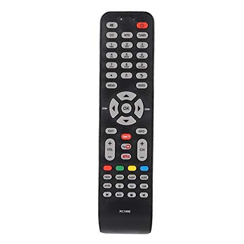 Ciglow Mando a Distancia de Repuesto para TV TCL Smart TV 06-519W49-D001X L32D2740E L32D2740EISD con Botones Grandes fáciles de presionar