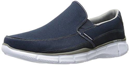 Skechers Equalizer Popular Demand Mens Walking Sneakers Navy/Gray 11