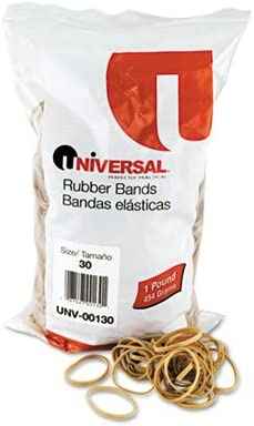 Universal Rubber Bands RUBBERBANDS SIZE 1LB 30 of30 Under blast sales Pack Outlet sale feature