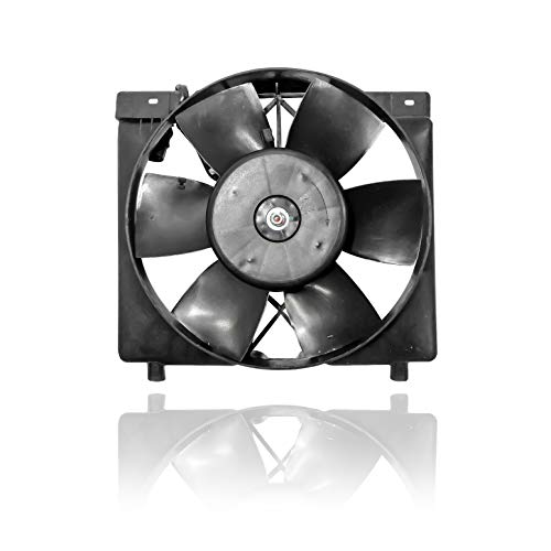 Engine Cooling Fan Assembly - PACIFIC BEST INC. For/Fit 52005748AB 88-94 Jeep Cherokee Wagoneer 6 Cylinder-Inline