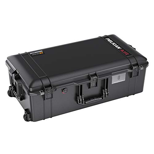 Pelican Air 1615 Case with Foam (2020 Edition with Push Button Latches) - Black...