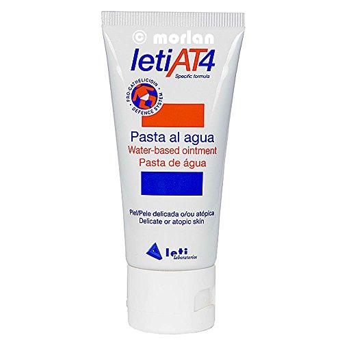 LetiAT4® pasta al agua - crema pañal 75 gr para pieles atopicas o secas