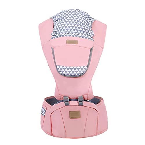 Electrical Shopping Modo Multifunzione Baby Cinghie per Bambini Morbidi Zaini Regolabili per Bambini Supportano più Cure Portatili da 3 A 24 Mesi Baby E Bambini Piccoli,Rosa
